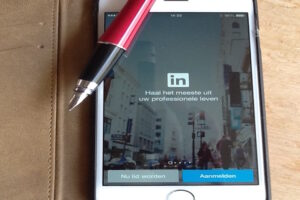 Blogpromotie via #LinkedIn