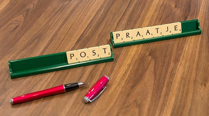 Met het abonnement PostPraatje kun je het schrijven van teksten voor nieuwsbrieven uitbesteden.
